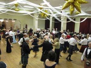 Dancers enjoying the 2012 Dunfermline Ball