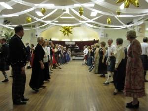 Dancers enjoying the 2012 Dunfermline Ball