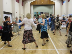 Summer dancing at Abbey View Community Centre, 2012